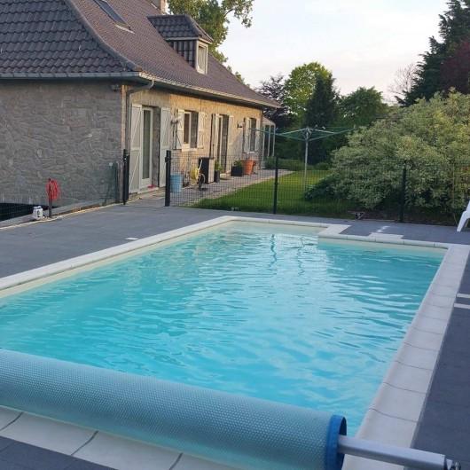 Location de vacances - Villa à Achet - Piscine extérieure 28°     disponible du 01/05 au 30/09