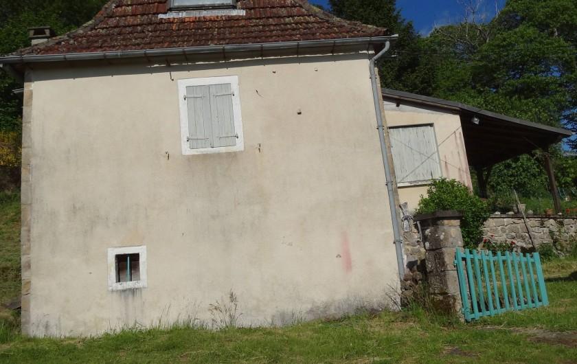 Location de vacances - Maison - Villa à Teyssieu - Maison (anciennement couverte de chaume)
