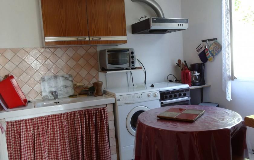 Location de vacances - Maison - Villa à Teyssieu - Cuisine