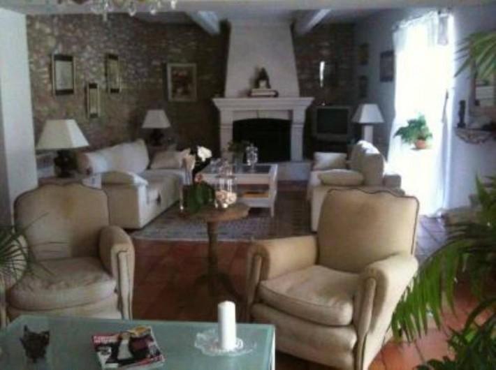 Location de vacances - Chambre d'hôtes à Caumont-sur-Durance - Salon