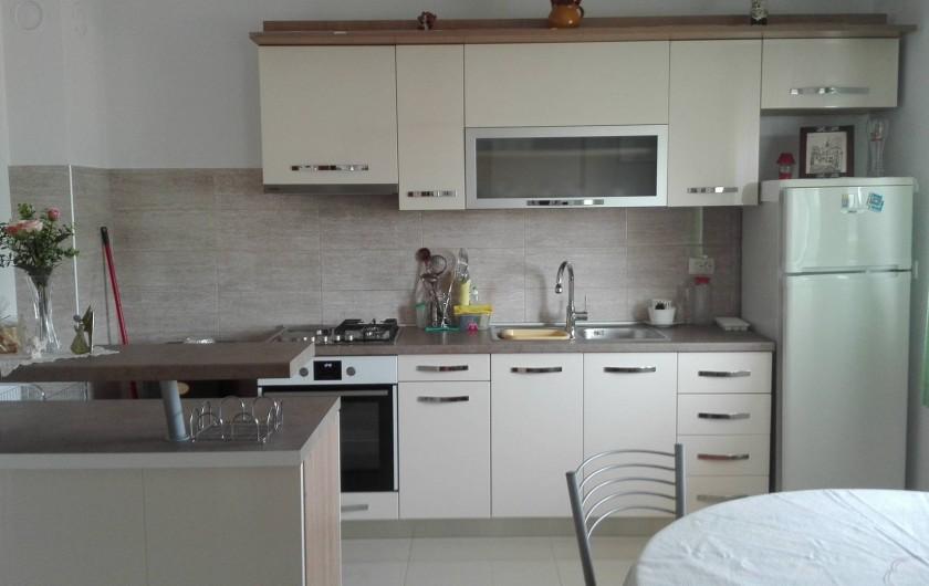 Location de vacances - Appartement à Veli Rat - la cuisine APT1