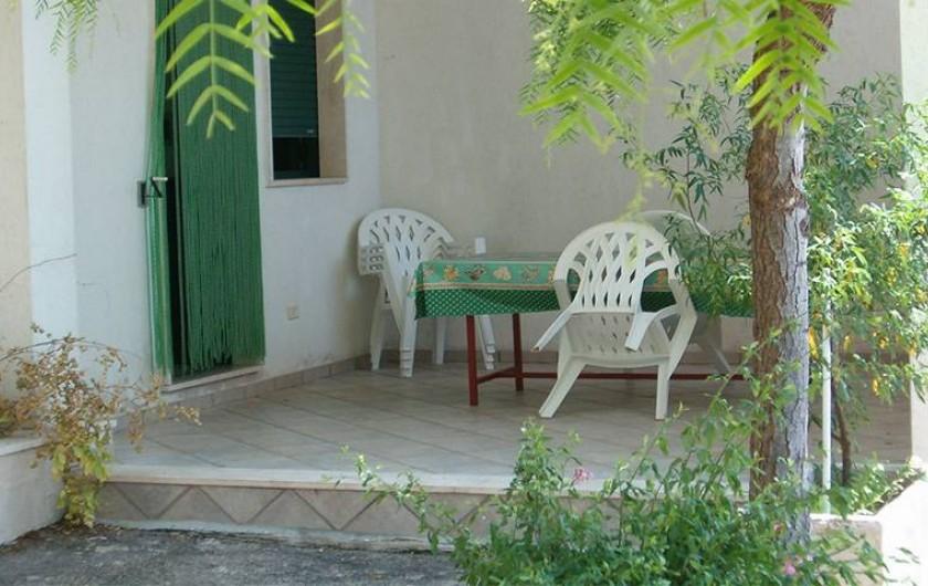 Location de vacances - Villa à Gallipoli - exterieur maison n°6 avec 2 chambres  6 places visible sur