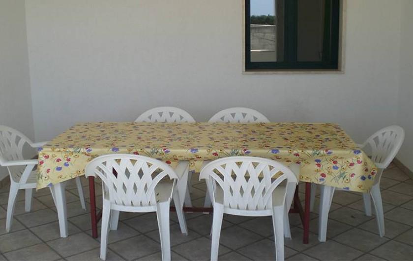 Location de vacances - Villa à Gallipoli - terasse de maison n°7 avec 3 chambres , 2 bain  visible sur