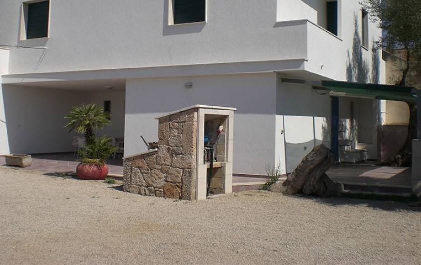 Location de vacances - Villa à Gallipoli - maison n°8 avec 2 chambres, 2 bains  visible sur