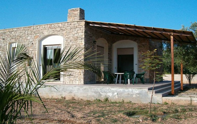 Location de vacances - Villa à Gallipoli - Villa independente Ortensia  1 chambre max 4 places
