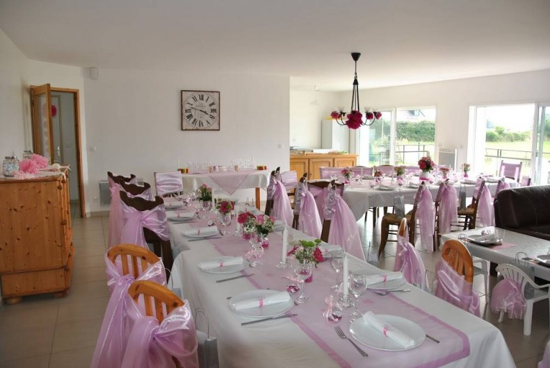 Location de vacances - Gîte à Locquirec - Ty Papy - Déco mariage