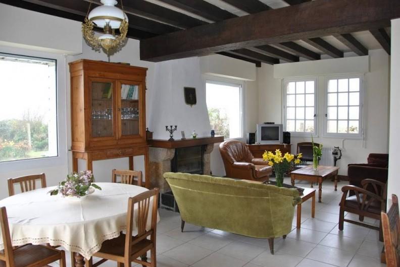 Location de vacances - Gîte à Locquirec - Avel Mor - Salon