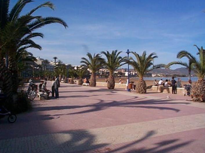 Location de vacances - Appartement à Puerto de Mazarrón - PLAGE DE SABLE