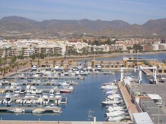 Location de vacances - Appartement à Puerto de Mazarrón - LE PORT  PLAISANCE ET PECHE  (La criée a l'arrivée des pécheurs)