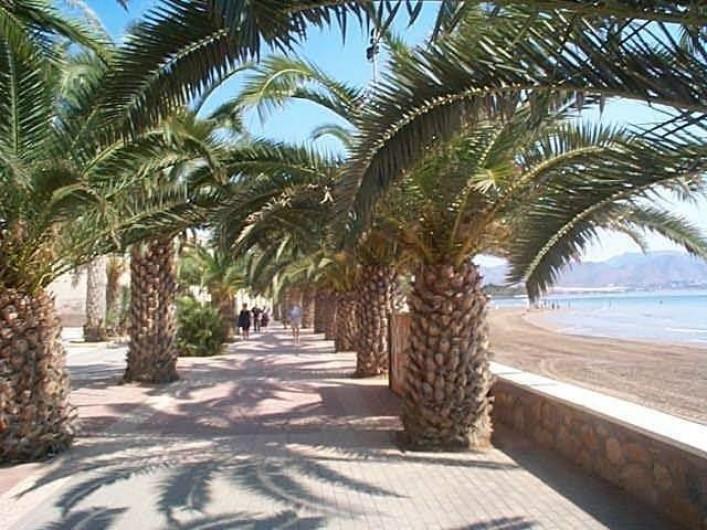 Location de vacances - Appartement à Puerto de Mazarrón - LA RAMBLA  PLAGE ET MER