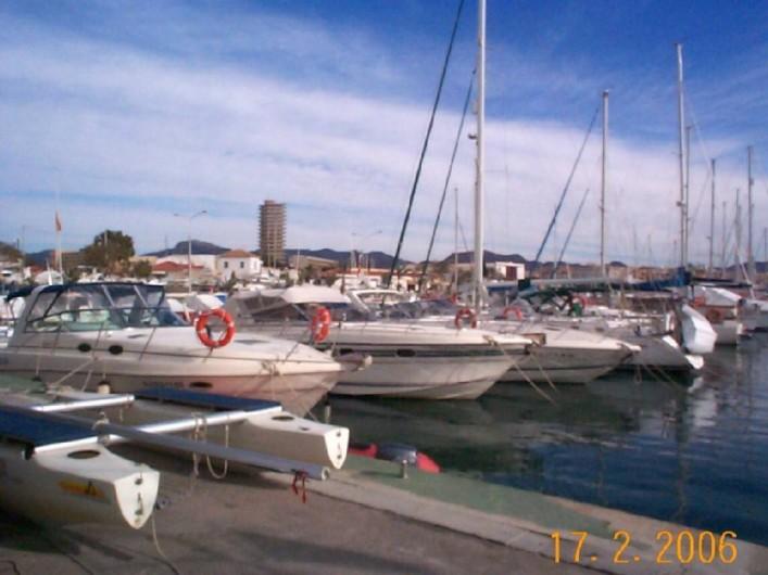 Location de vacances - Appartement à Puerto de Mazarrón