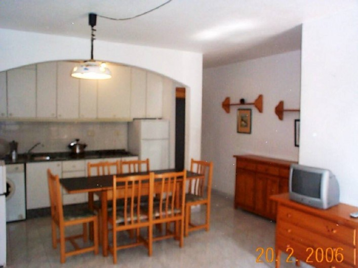 Location de vacances - Appartement à Puerto de Mazarrón - SALLE A MANGER