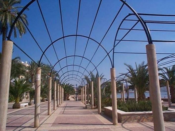 Location de vacances - Appartement à Puerto de Mazarrón - LA RAMBLA  le long du PORT