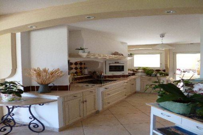 Location de vacances - Maison - Villa à La Crau - Cuisine