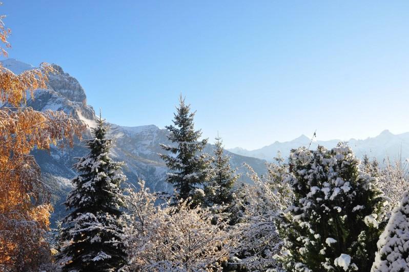Location de vacances - Appartement à Puy-Saint-Vincent - Paysage de début d'hivers
