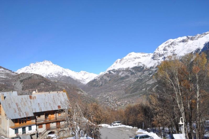 Location de vacances - Appartement à Puy-Saint-Vincent - la vue du balcon