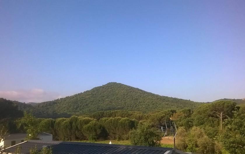 Location de vacances - Bungalow - Mobilhome à Le Muy - Vue de la terrasse...