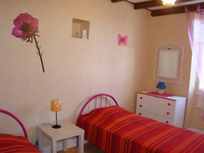 Location de vacances - Maison - Villa à Cuzorn - chambre 2 lits