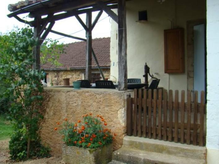 Location de vacances - Maison - Villa à Cuzorn - terrasse