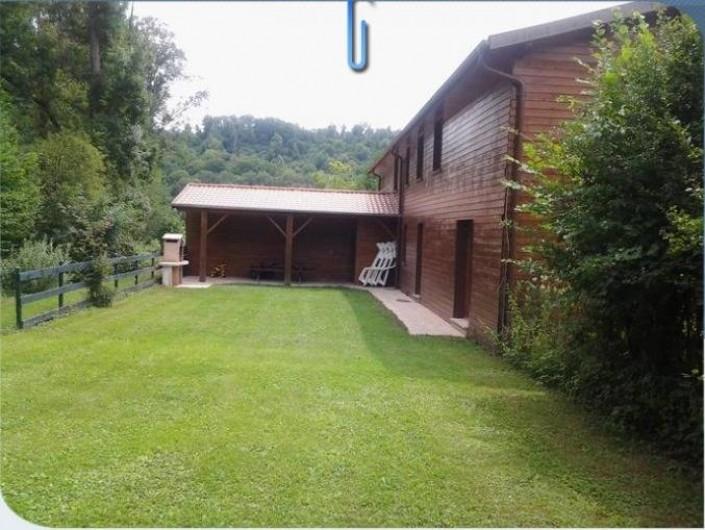 Location de vacances - Maison - Villa à Sexey-aux-Forges - Le coin détente à l'arrière