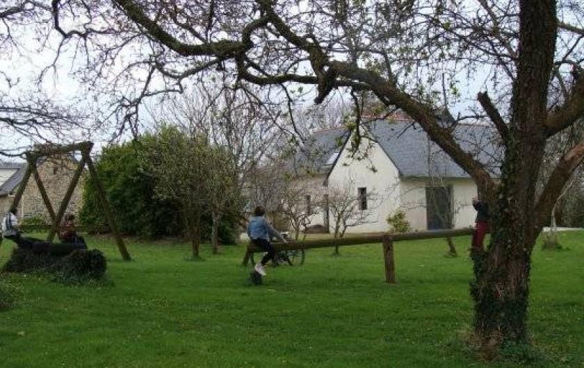 Location de vacances - Gîte à Logonna-Daoulas - le jardin