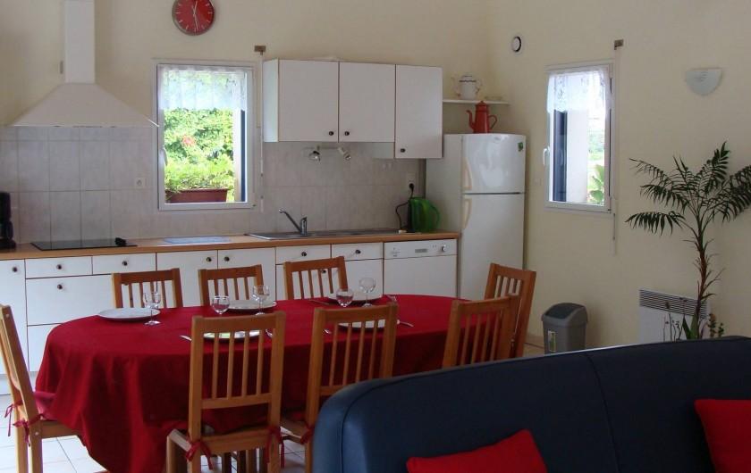 Location de vacances - Gîte à Logonna-Daoulas - la cuisine