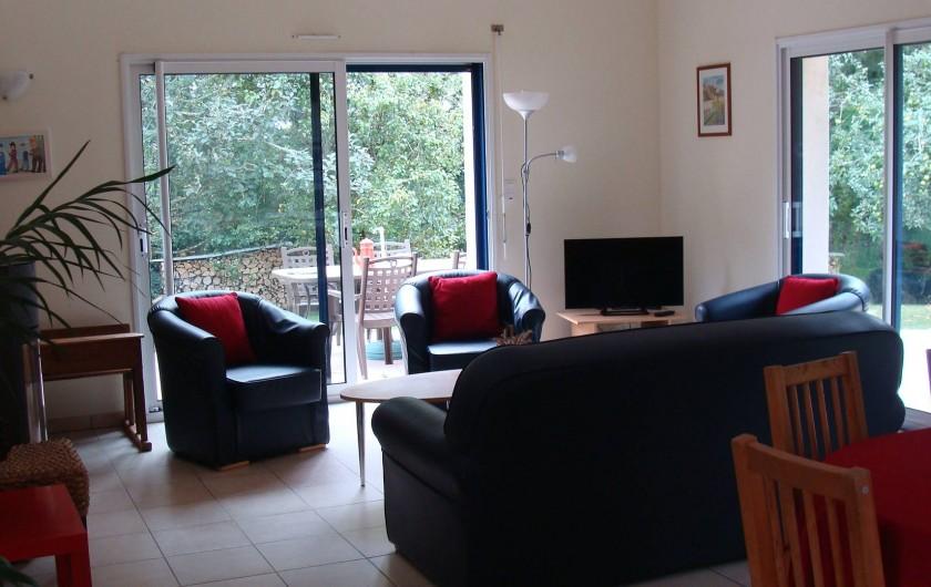 Location de vacances - Gîte à Logonna-Daoulas - le salon