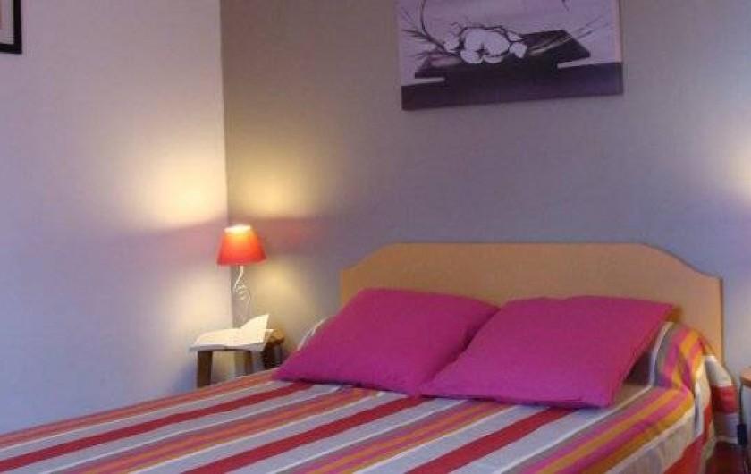 Location de vacances - Gîte à Logonna-Daoulas - chambre au rez de chaussée