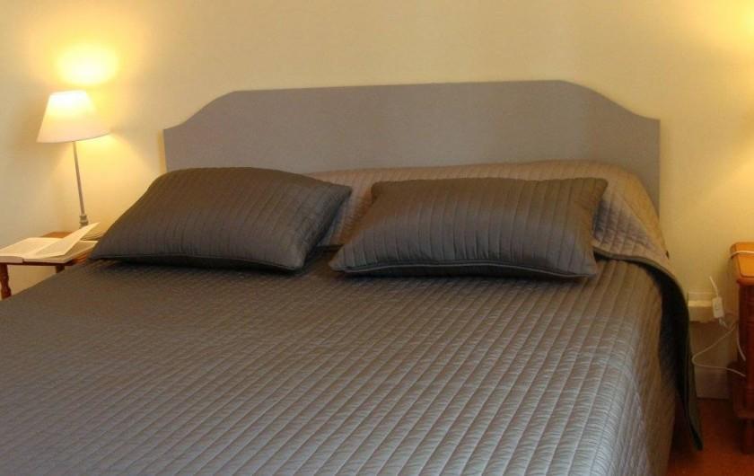 Location de vacances - Gîte à Logonna-Daoulas - chambre rez de chaussée