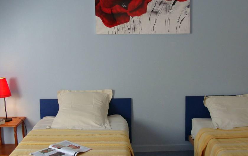 Location de vacances - Gîte à Logonna-Daoulas - chambre étage