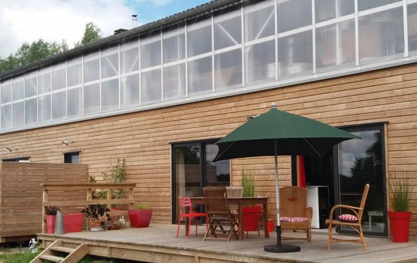 Location de vacances - Appartement à Ploufragan - 3 GITES  : 1 GITE 80M2 + 1 GITE 20 M2 + 1 GITE 50 M2