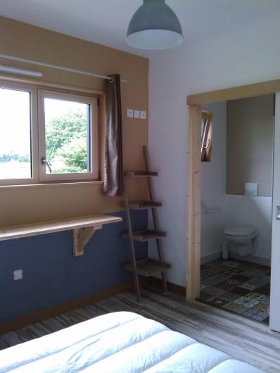 Location de vacances - Appartement à Ploufragan - 1 CHAMBRE AVEC SALLE D'EAU : LE HANGAR
