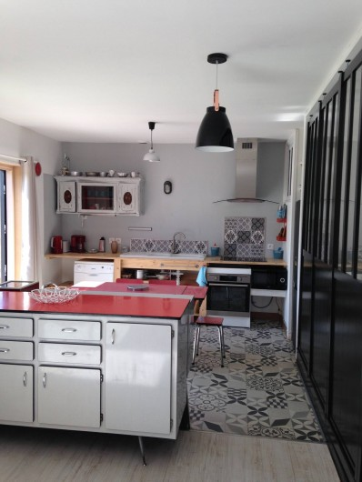 Location de vacances - Appartement à Ploufragan - GITE : L'ATELIER . 50 m2 chambre familiale