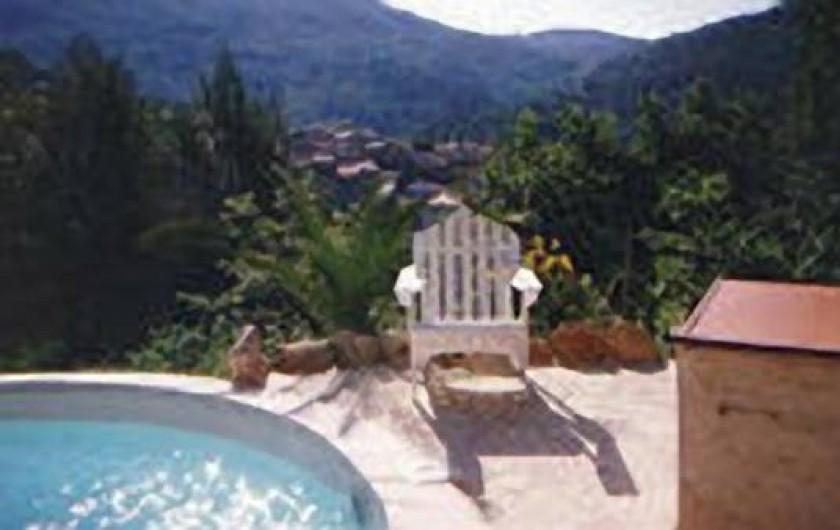 Location de vacances - Villa à Montferrat - Magnificient  view from the pool