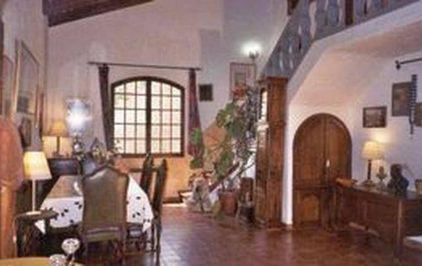 Location de vacances - Villa à Montferrat - sejour tres spacieux
