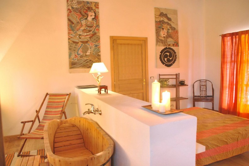 "Location de vacances - Appartement à Murazzano - ""Saffron House"" bedroom"