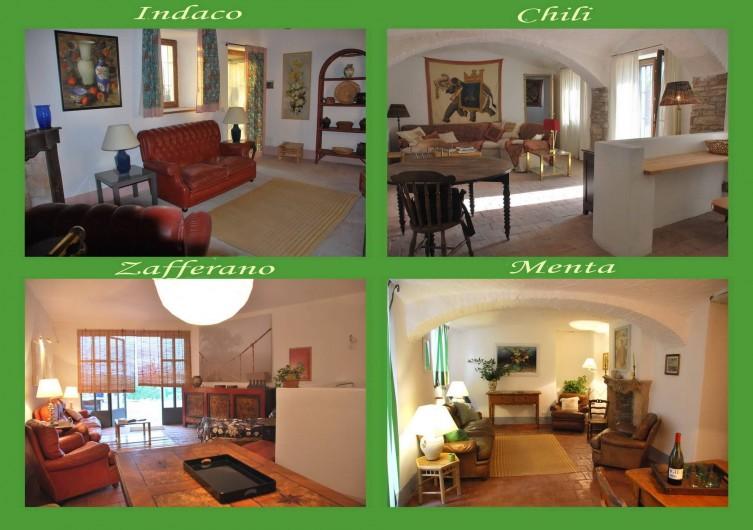 Location de vacances - Appartement à Murazzano - les quatre appartements