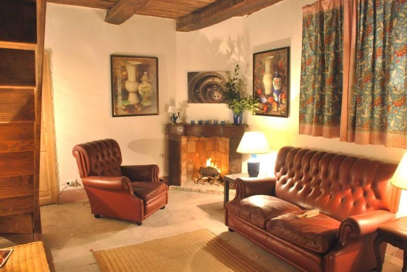 "Location de vacances - Appartement à Murazzano - ""Indigo House"" living room"