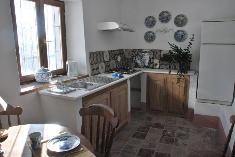 "Location de vacances - Appartement à Murazzano - ""Indigo House"" cuisine"