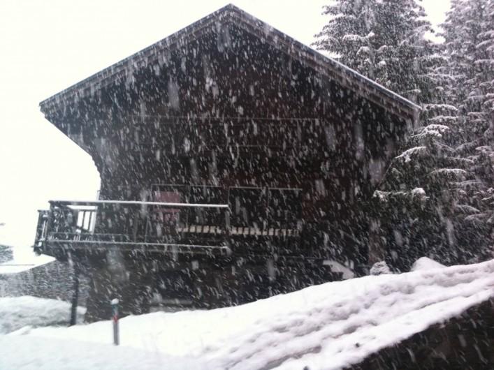 Location de vacances - Chalet à Megève - Sous la tempête