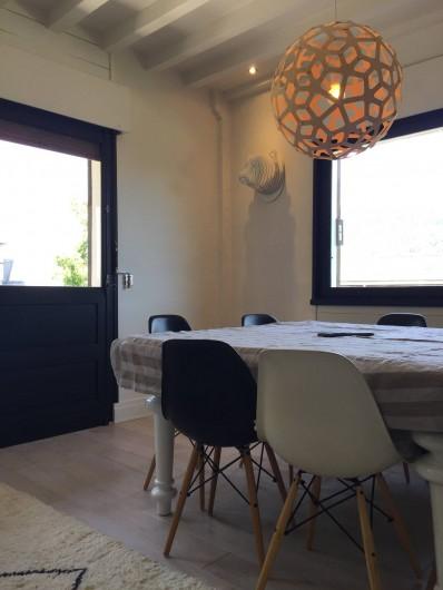 Location de vacances - Chalet à Megève - Partie salle à manger