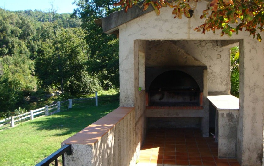 Location de vacances - Villa à Corscia - coin barbecue