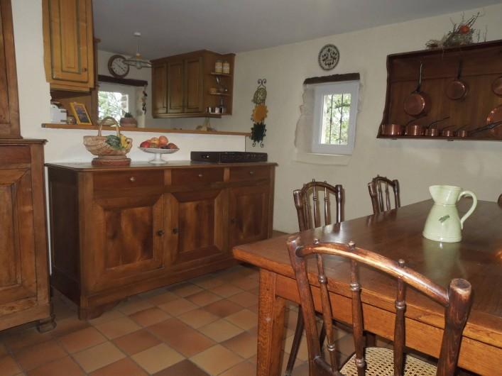 Location de vacances - Mas à Chantemerle-lès-Grignan - cuisine 2