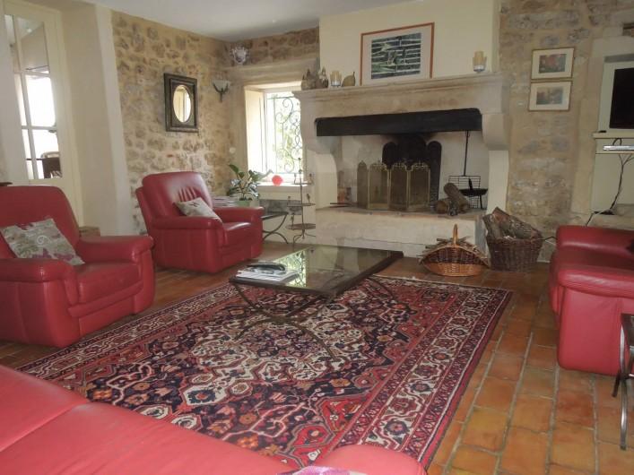 Location de vacances - Mas à Chantemerle-lès-Grignan - salon