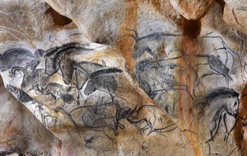 Location de vacances - Mas à Chantemerle-lès-Grignan - la grotte Chauvet