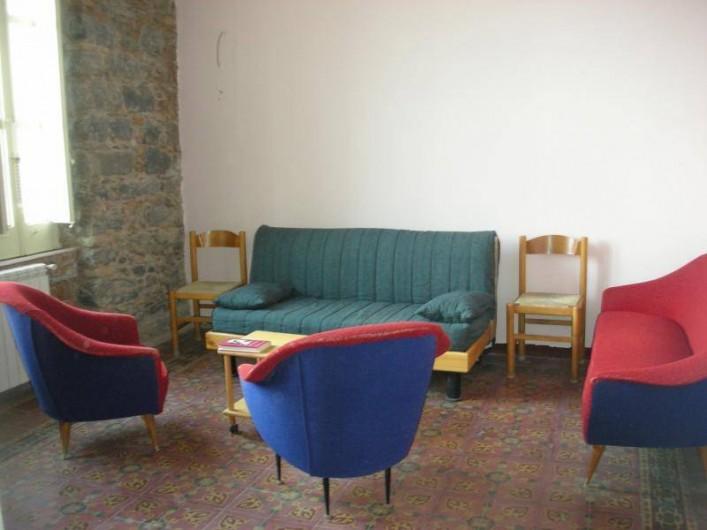 Location de vacances - Villa à Aci Castello - Salon avec divan-lit