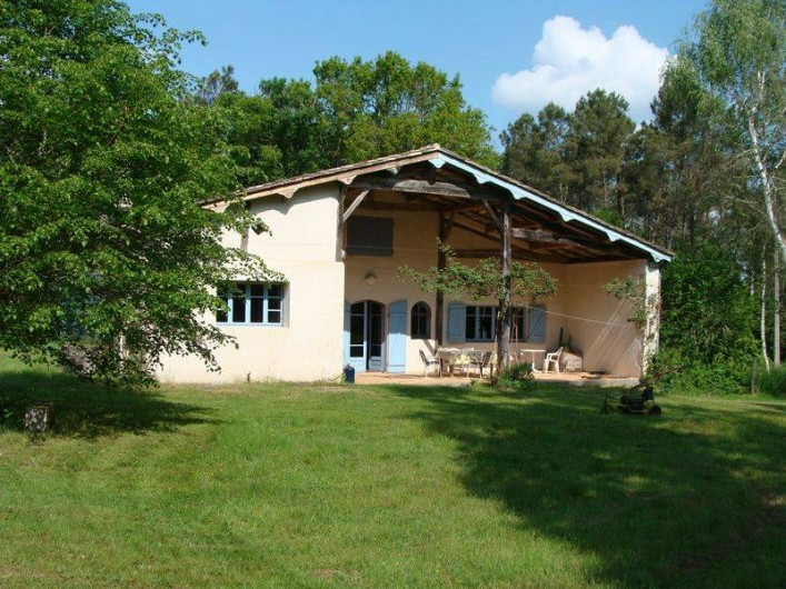 Location de vacances - Gîte à Sillas - Façade Est 1
