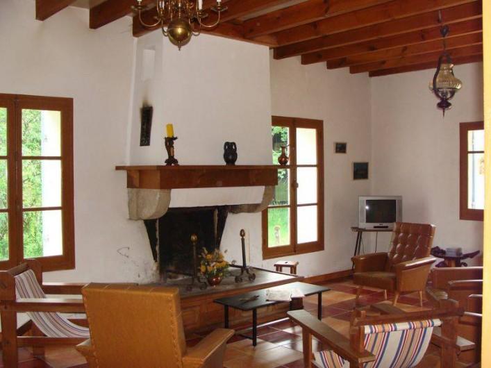 Location de vacances - Gîte à Sillas - Salon