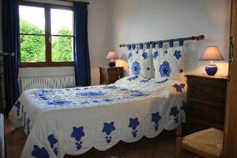 Location de vacances - Gîte à Frencq - Chambre bleue .