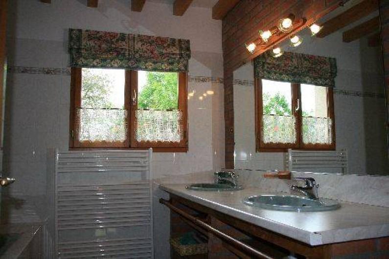 Location de vacances - Gîte à Frencq - Salle de bain  .